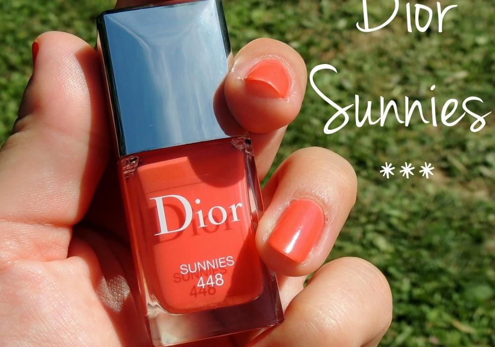 Dior Sunnies, mon vernis de l'été